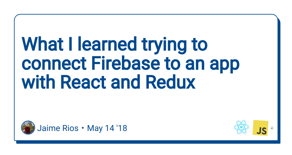 What I learned trying to connect Firebase to an app with