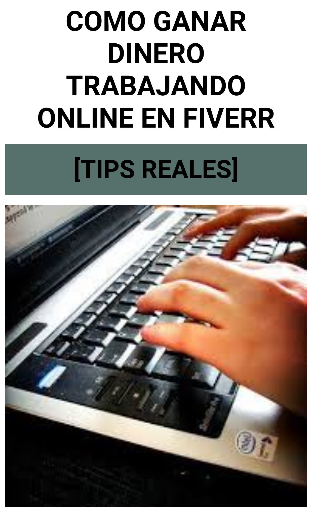 Como GANAR DINERO trabajando Online en Fiverr