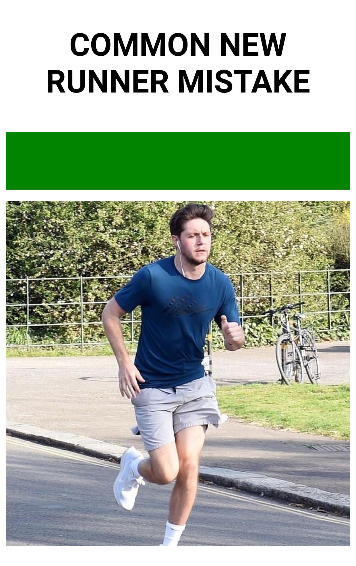 Common New Runner Mistake