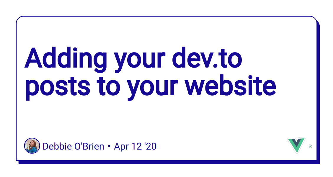 Adding your dev.to posts to your website