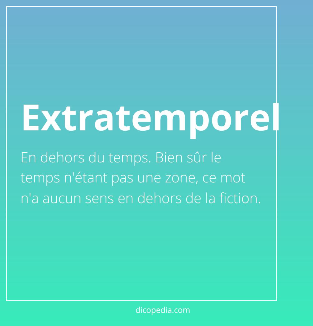 extratemporel