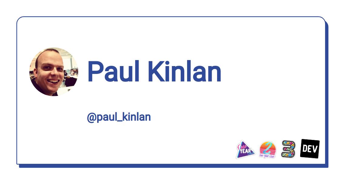Paul Kinlan - DEV Community 👩 💻👨 💻
