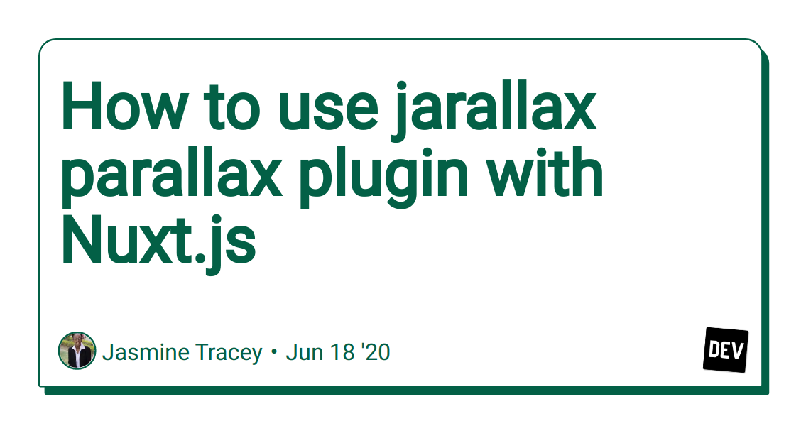 How to use jarallax parallax plugin with Nuxt.js image