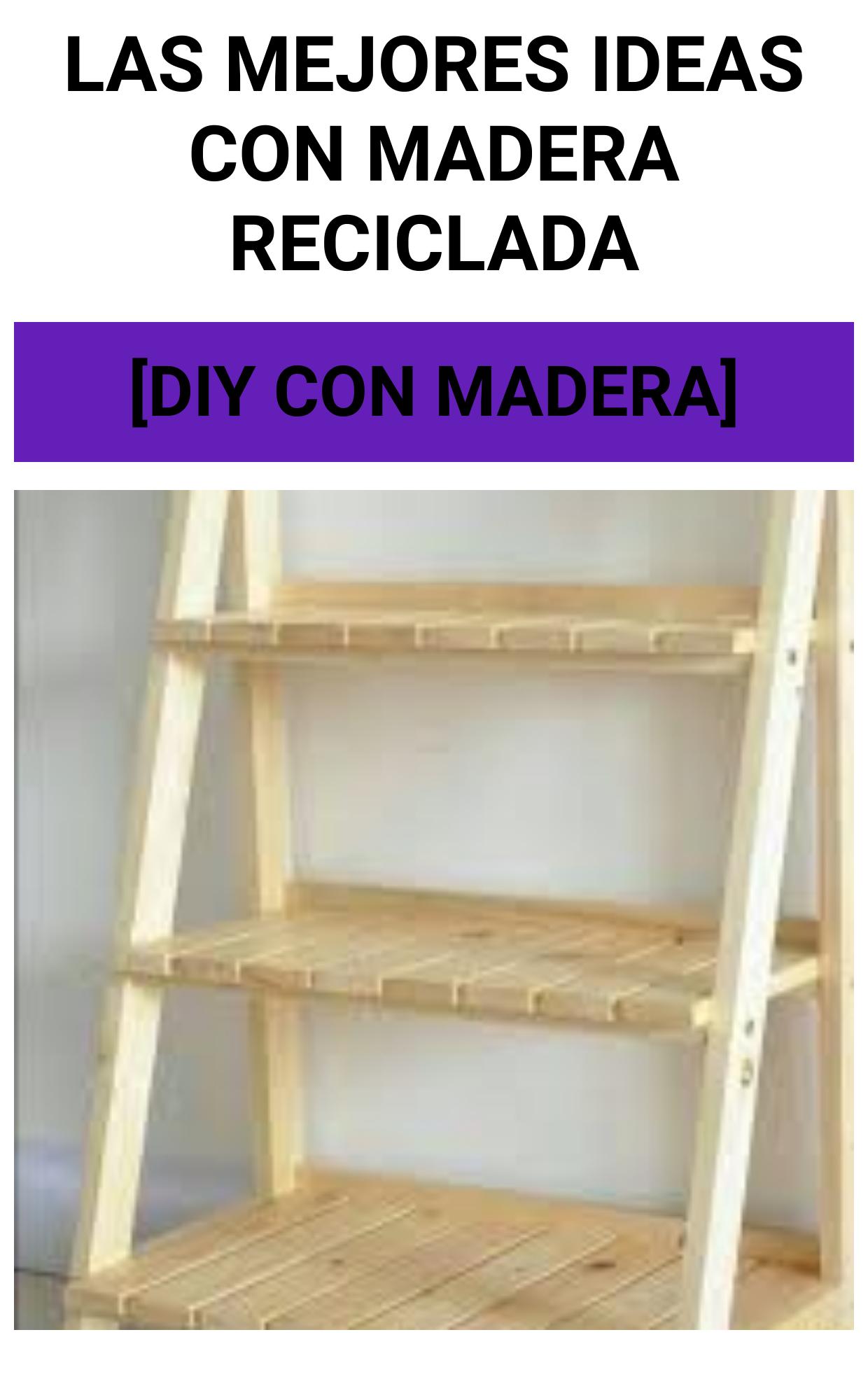 Las MEJORES ideas con madera reciclada