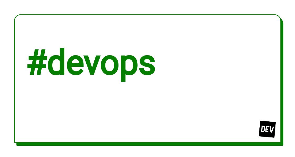 Devops - Top posts this week - DEV Community 👩💻👨💻