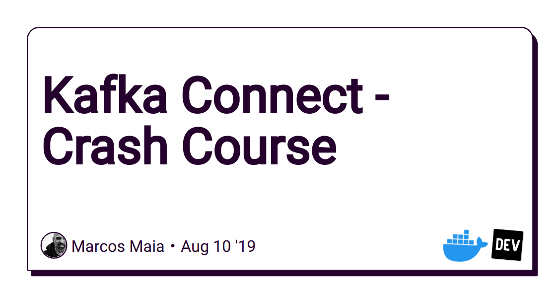 Kafka Connect Docker