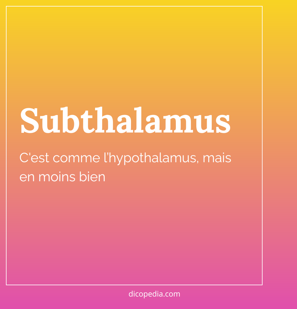 subthalamus